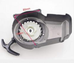 Demaror pornire Pocket Bike, mini ATV (aluminiu negru) model 2