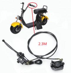 Kit frana hidraulica scuter electric City Coco (stanga - spate - 230cm)