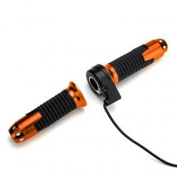 Maneta acceleratie bicicleta / scuter electric (set stanga-drepta)