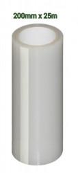 Scotch alb pentru reparatii folie solarii (20cm alb transparent) 25m Lungime
