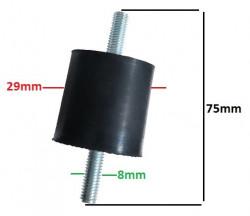 Amortizor universal generator, motopompa 29 x 8 mm