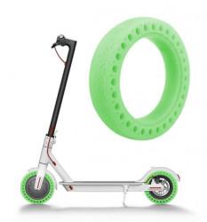 Cauciuc solid trotineta electrica verde florescent 8.5 Inch