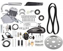Kit motor bicicleta 80 cc 2 TIMPI (transmisie curea)