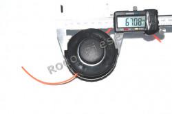 Mosor trimmer cu fir motocoasa electrica (model 1)