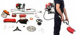 Motocoasa Micul Fermier BC430KF tip rucsac 4.76CP cu 7 accesorii