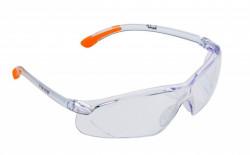 Ochelari protectie motocoasa (transparenti + portocaliu)