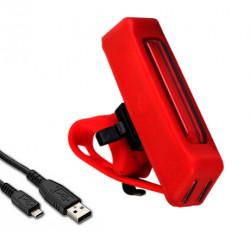 Stop bicicleta cu incarcare USB KD-619