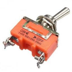 Comutator simplu 15A 250V (2 papuci)