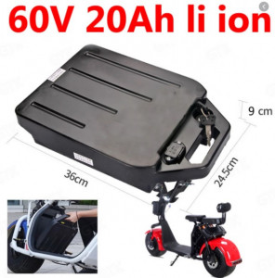 Baterie detasabila scuter electric 60 V, 20 A Litiu-Ion (City Coco)