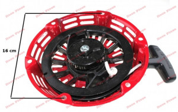 Demaror compatibil HONDA GX 160 / motoare chinezesti (fulie neagra)