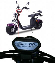 Kilometraj scuter electric City Coco (60V) model 1
