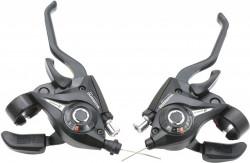 Manete schimbator bicicleta Shimano 3 x 7