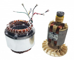 Stator si Rotor generator 2 - 5 kw (Gx 160, 168F etc) Cupru (Trifazic)