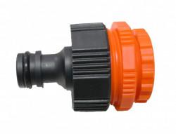 Conector intre furtun gradina si robinet (cu 3 adaptoare)