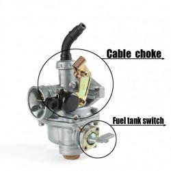 Carburator ATV 110cc PZ19 (cu robinet de benzina)