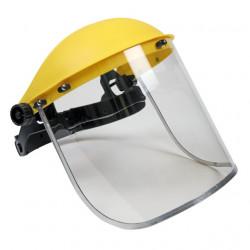 Casca protectie motocoasa plexiglass