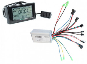 Display + controller SW900 bicicleta electrica (36V 350W)