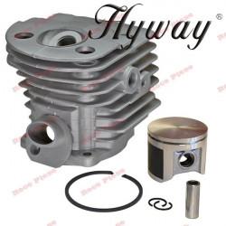 Kit cilindru drujba Husqvarna 51 Hyway Ø 45 mm (piston placat cu teflon)