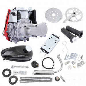 Kit motor (4 TIMPI) bicicleta 49 cc (model nou)