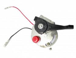 Maneta acceleratie cu suport si buton oprire incorporat