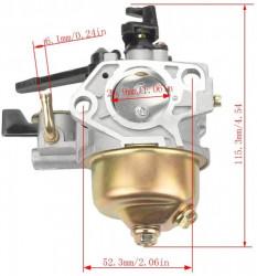 Carburator compatibil Honda GX 390, 13HP (cu robinet de benzina)