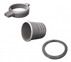 Cupla furtun motopompa 3 toli (aluminiu)