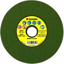 Disc abraziv pentru aparat de ascutit lant drujba 145x 3.2 x 22.2mm Tecomec (verde)