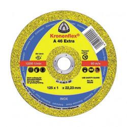 Disc debitare metal 125 x 1 x 22.23 Kronenflex