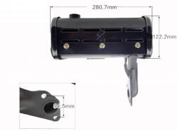 Esapament motor diesel 186F