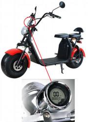 Kilometraj scuter electric City Coco (60V) model 2