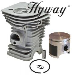Kit cilindru drujba Husqvarna 340, 345 Hyway Ø 40 mm (Piston placat cu teflon)
