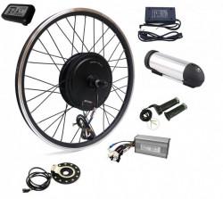 Kit conversie bicicleta electrica 36v 500w (roata fata); Baterie 10A inclusa (roata 28 inch)