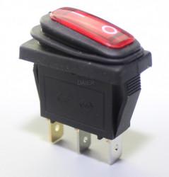Comutator simplu KCD3 15A (rezistent la apa)