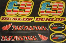 Abtipild Honda-Dunlop 23 Cm x 31 Cm