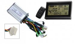 Display + controller bicicleta electrica KT LCD3 (36V - 48V / 500W)