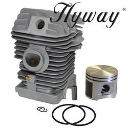 Kit cilindru drujba Stihl MS 250, 025 Hyway Ø 42.5 mm (Piston placat cu teflon)