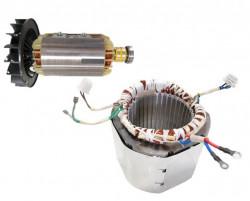 Stator si Rotor generator 5-6 KW (Gx 390, 188 ) Cupru (Monofazic)