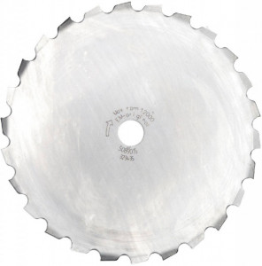 Disc taietor arbusti 200mm, 26T, 25.4mm (original)