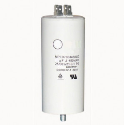 Condensator pornire motor electric CD60 (450V 150uf) cu papuci