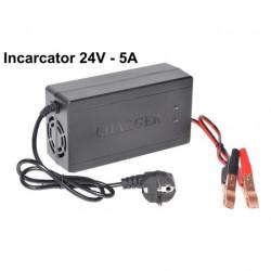 Incarcator baterie 24V, 5A (Plumb-Acid)