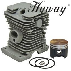 Kit cilindru drujba Stihl MS 180, 018 Hyway Ø 38 mm (Piston placat cu teflon)