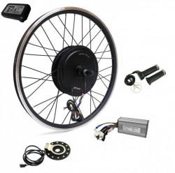 Kit conversie bicicleta electrica 36v 500w (roata fata 28 inch) (FARA BATERIE)