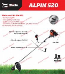 Motocoasa Blade Alpin 520 (3 CP)