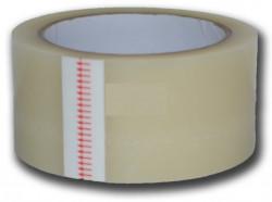 Scotch alb pentru reparatii folie solarii (5cm alb transparent) 25m Lungime