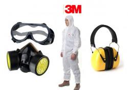 Set accesorii atomizor (ochelari, masca respiratie, casca antifonica, combinezon)