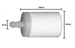 Filtru benzina drujba Husqvarna 6mm