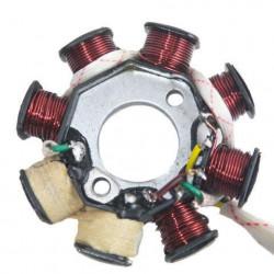 Magnetou scuter chinezesc 50-80cc 8 bobine (5 fire mufa 3+2)