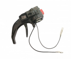 Maneta acceleratie motosapa cu buton incorporat - 26mm