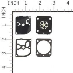 Membrane carburator Zama model C1T (GND-92)