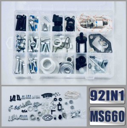 Set 92 buc piulite, suruburi si accesorii drujba Stihl Ms 440, 660